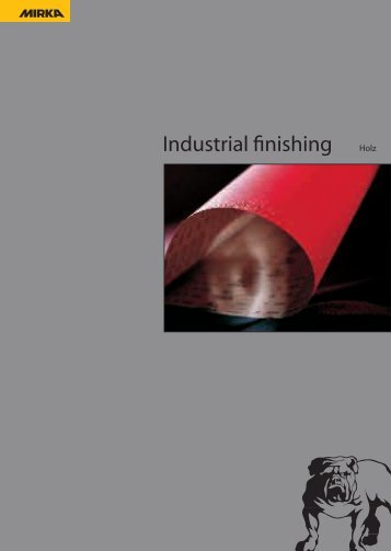 Mirka Industrial-Finish Holz