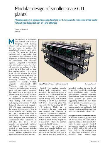 gas to liquids gtl technology pdf