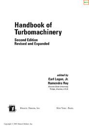 Handbook of Turbomachinery Second Edition Revised - Ventech!