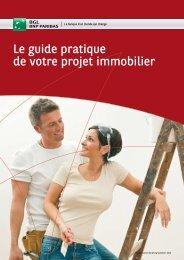 Brochure le guide pratique de votre projet immobilier - Banque BGL ...