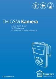 TH GSMKamera - Trygg hem