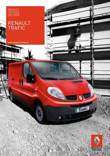 Prospekt Renault Trafic