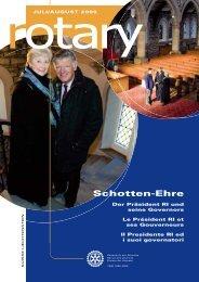 Schotten-Ehre - Rotary Schweiz