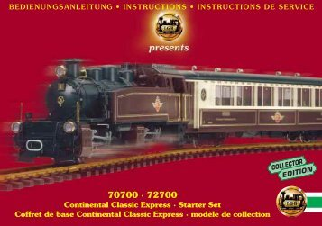 70700 · 72700 - G Scale News