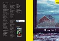 Vorschau Herbst 2012 - Grafit Verlag