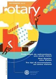 Trois types de subventions, une seule vision Drei ... - Rotary Schweiz