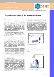 Workplace ventilation in the polyester industry - PlasticsEurope