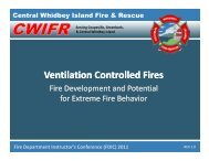 Ventilation Controlled Fires - CFBT-US!