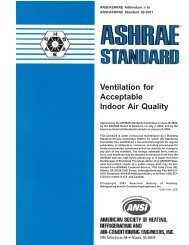 Ventilation for Acceptable Indoor Air Quality - ashrae