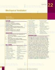 Mechanical Ventilation - Jones & Bartlett Learning