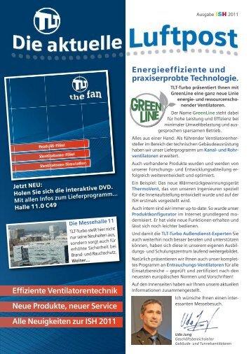 1 grundlagen der ventilatorentechnik tlt turbo gmbh for Grundlagen der tragwerklehre 1