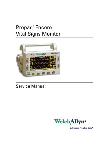 Spot vital signs® lxi outline train the trainer welch allyn.