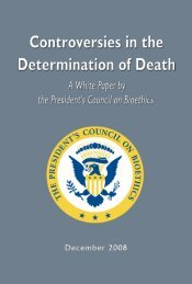 Controversies in the Determination of Death, A White