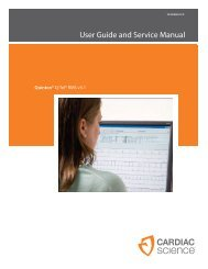 User Guide and Service Manual - Cardiac Science