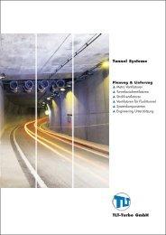 Tunnel Systeme Metro Ventilatoren ... - TLT-Turbo