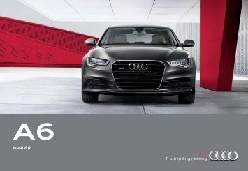 Audi A6 - 2012 Audi A7 | Digital Dynamic Brochure - Audi