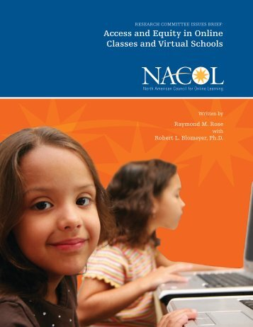 Access and Equity in Online Classes and Virtual Schools - iNACOL