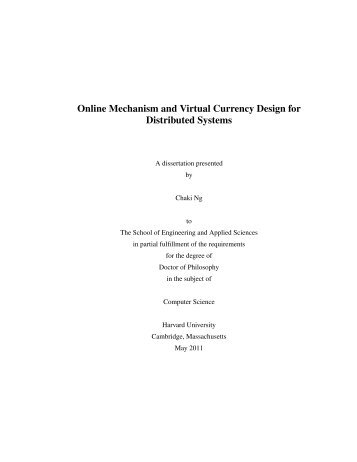Online Mechanism and Virtual Currency Design for Distributed ...
