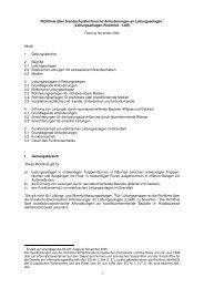Leitungsanlagen-Richtlinie - LAR