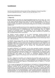 Begründung und Erläuterung - Baden-Württemberg