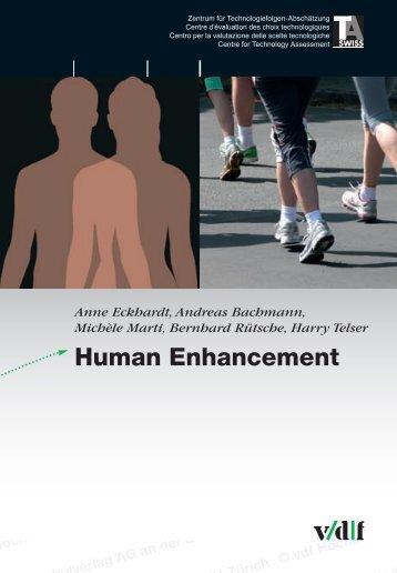 Human Enhancement - vdf Hochschulverlag AG an der ETH Zürich