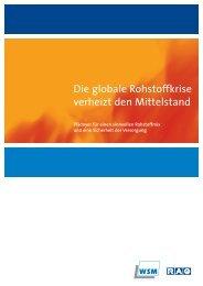 Die globale Rohstoffkrise verheizt den Mittelstand - RAG Deutsche ...