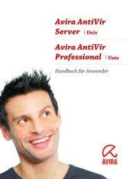 Avira AntiVir Server/ Professional (UNIX)