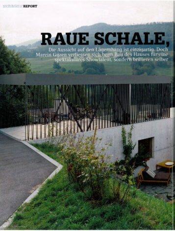Page 1 architektur REPORT Doch