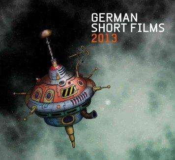 "Katalog ""German Short Films 2013"" - AG Kurzfilm"