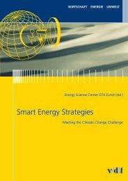 Smart Energy Strategies - vdf Hochschulverlag AG an der ETH Zürich