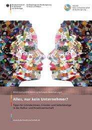 """Broschüre """"Alles, nur kein Unternehmer - CSR in Deutschland"""