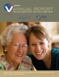 2007 Annual Report PDF - Vascular Disease Foundation