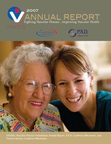 2007 Annual Report PDF - Vascular Disease Foundation