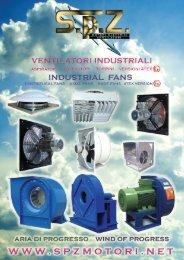 nuove serie ventilazione industriale - SPZ motori elettrici