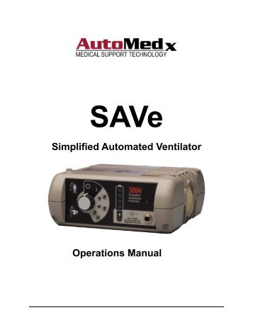 Simplified Automated Ventilator Operations Manual