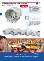 Serie TD-SILENT, i ventilatori più silenziosi al ... - Soler & Palau, SA