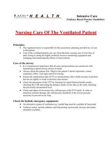 apie nursing model