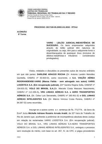 00171000520095010032#25-0 - Tribunal Regional do Trabalho da ...