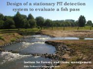 Design of a stationary PIT detection system to ... - INRA Rennes