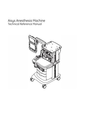 Aespire 7900 Anesthesia Machine Technical Reference Manual