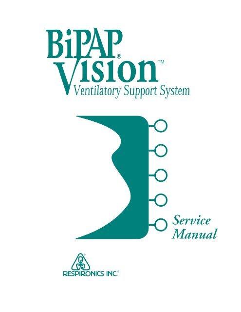 Respironics BiPAP Vision Service Manual Static Content