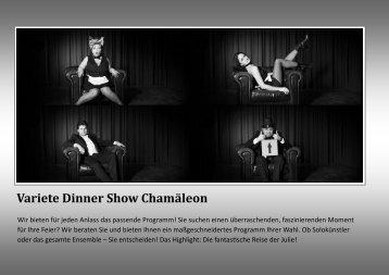 Variete Dinner Show Chamäleon - CHAMAELEON Variete Dinner ...