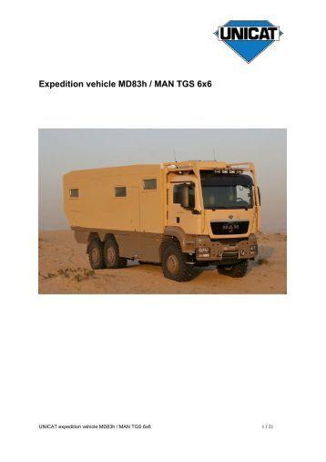 Exposee MD83h MAN TGS 6x6 e