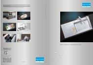 Spülen und Becken: Produktübersicht 2012 - Suter