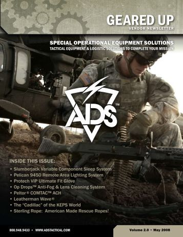 Download Geared Up Volume 2 – May 2008 - ADS, Inc.