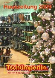 Weihnachten 2009 - Tschümperlin & Co AG
