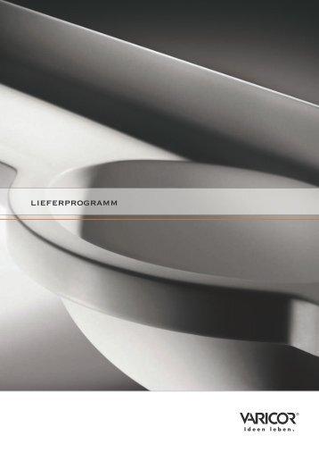 Lieferprogramm 2008