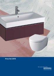 Price list 2010
