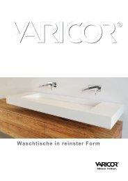 Varicor Waschtische 2012.indd - Meyer AG