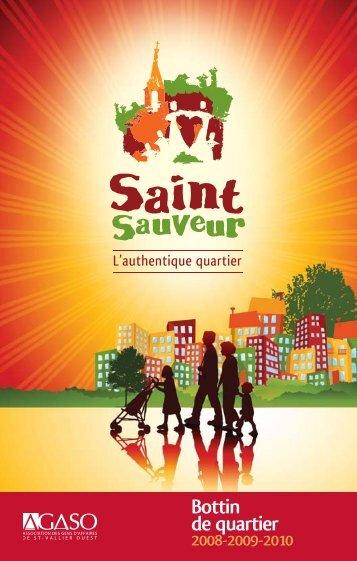 Bottin de quartier - Quartier Saint-Sauveur